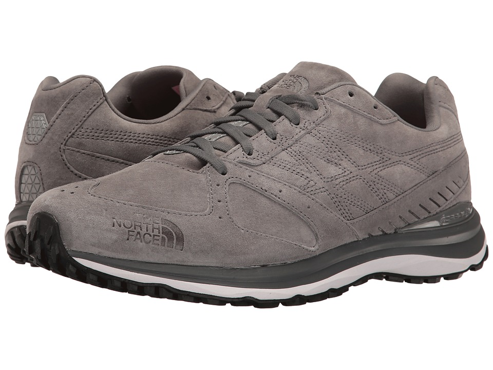 The North Face Traverse TR Leather (Dark Shadow Grey/TNF Black) Men