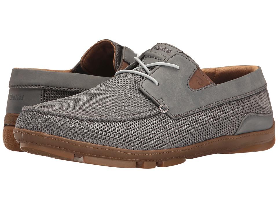 OluKai Mano Mesh (Charcoal/Toffee) Men's Shoes