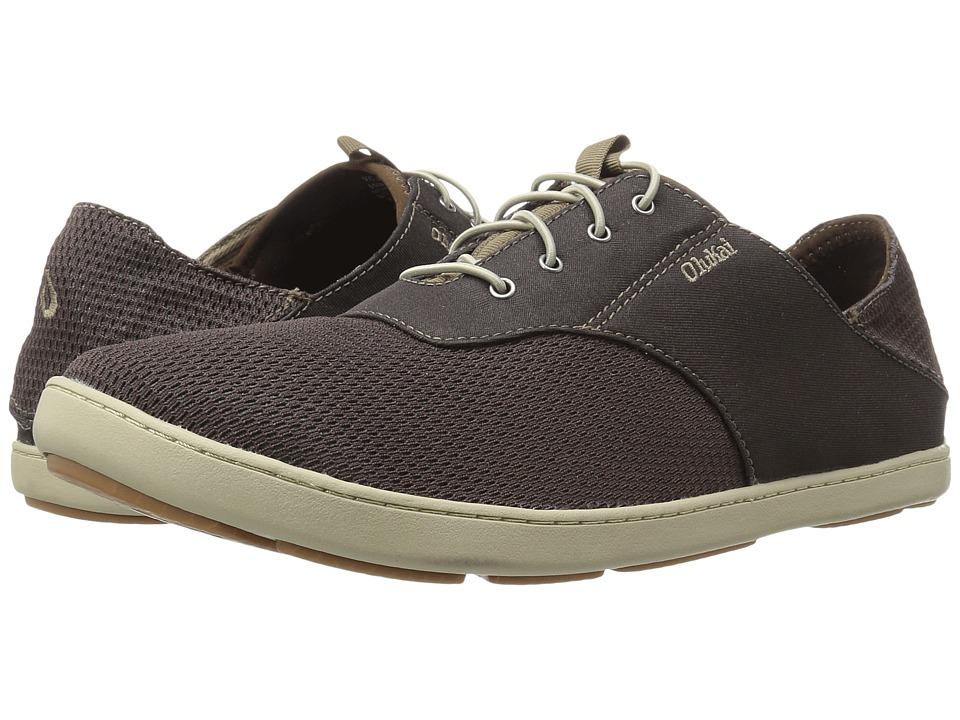 OluKai Nohea Moku (Dark Wood/Dark Wood) Men's Shoes