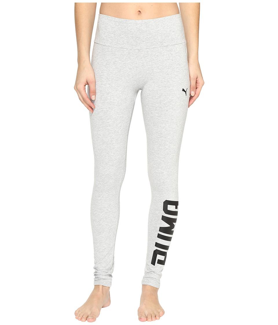 PUMA Style Swagger Leggings (Light Gray Heather 2) Women