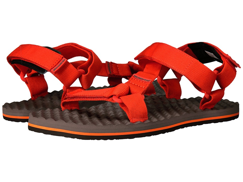 The North Face Base Camp Switchback Sandal (Falcon Brown/Tibetan Orange) Men
