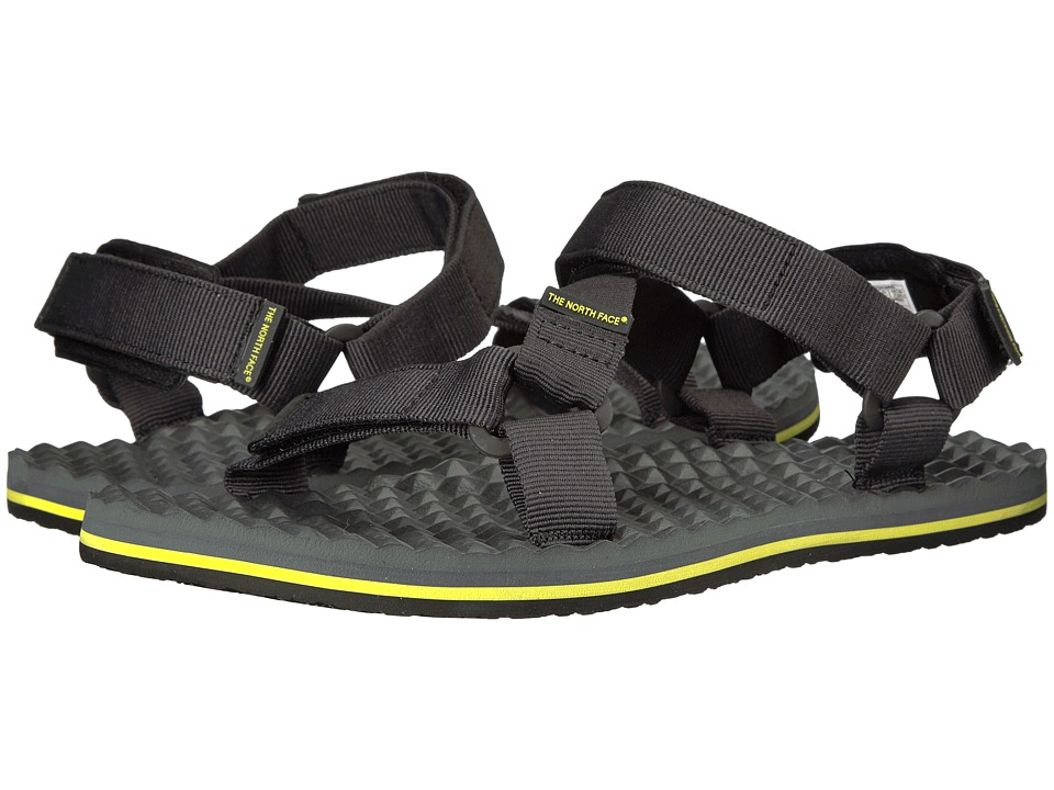 The North Face Base Camp Switchback Sandal (TNF Black/Sulphur/Spring Green) Men