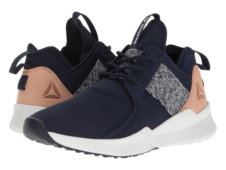 Reebok - Pilox 1.0 (Collegiate Navy/White/Veg Tan) Womens Cross Training Shoes