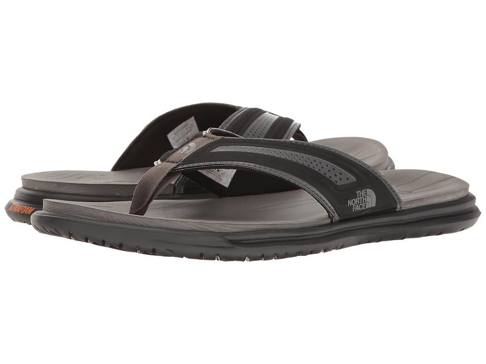 The North Face - Base Camp XtraFoam Flip Flop (TNF Black/Dark Shadow Grey (Prior Season)) Men's Sandals