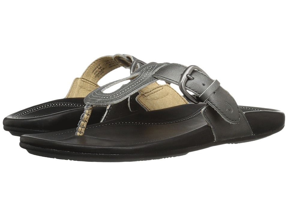 OluKai Lanakila (Pewter/Black) Women