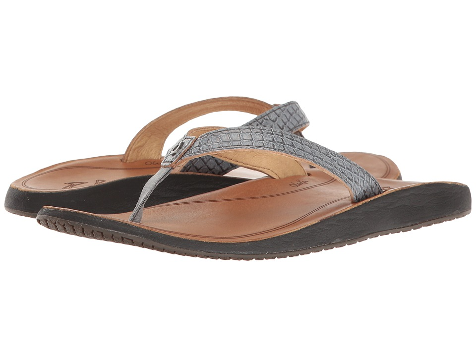 OluKai - Pua (Pewter/Sahara) Women's Sandals