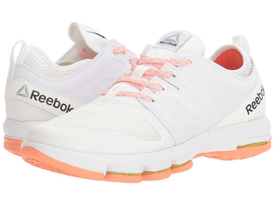 reebok 8 hyper velocity. reebok cloudride dmx (white/stellar pink/carotene) women\u0027s walking shoes 8 hyper velocity