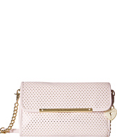 Betsey Johnson - Flap Crossbody w/ Partial Chain