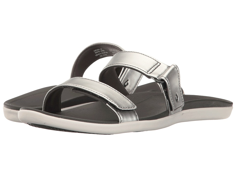 OluKai - Kipuka (Silver/Dark Shadow) Women's Sandals