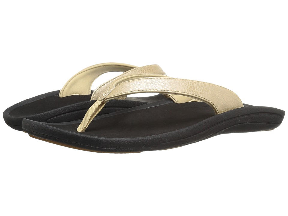 OluKai Kulapa Kai W (Bubbly/Black) Sandals