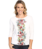 Tommy Bahama - Watercolor Columns Long Sleeve Tee