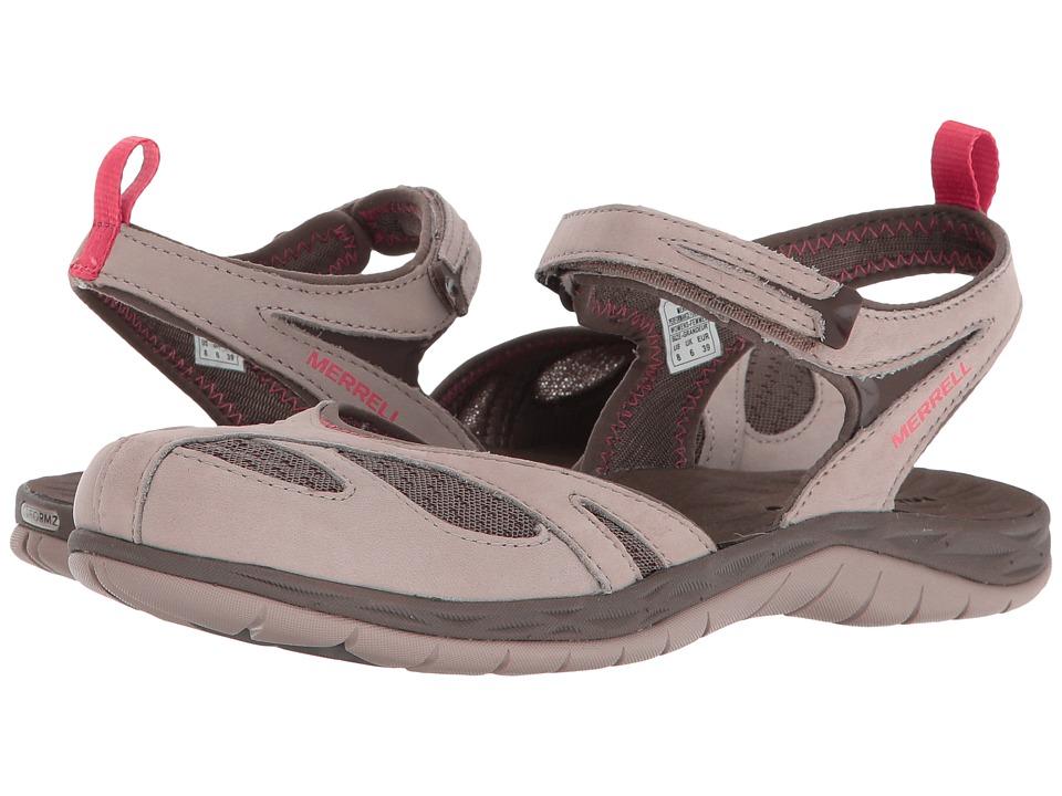 Merrell - Siren Wrap Q2 (Aluminum) Womens Sandals