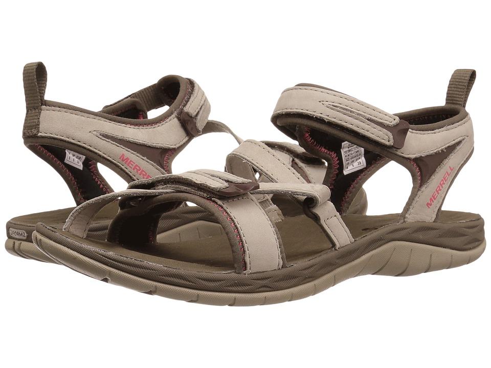Merrell - Siren Strap Q2 (Aluminum) Womens Sandals