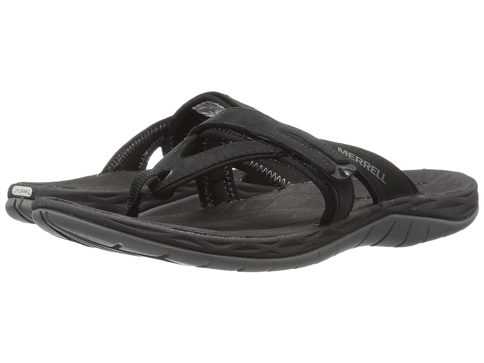 Merrell Siren Flip Q2 (Black) Sandals