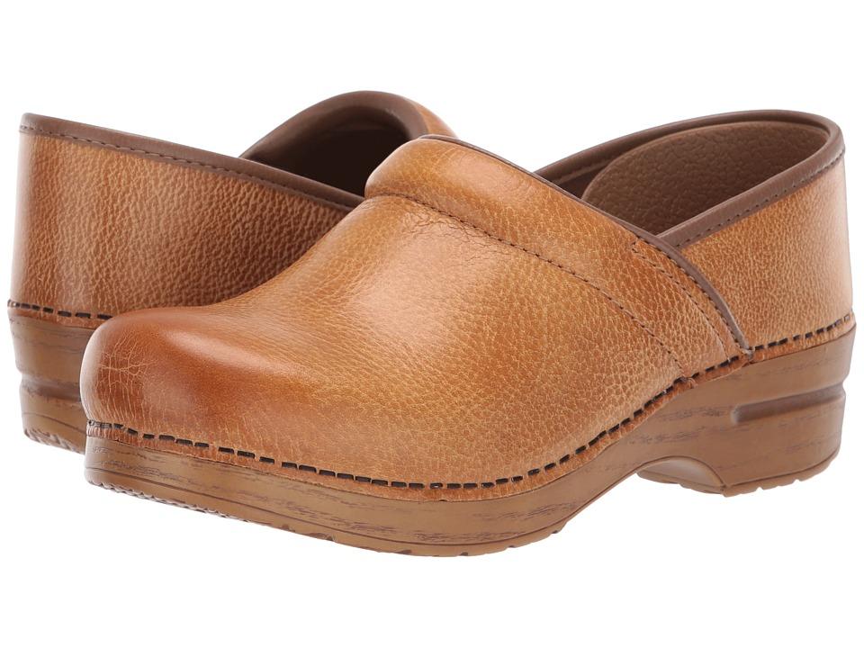 Dansko Professional (Honey Distressed) Clog Shoes