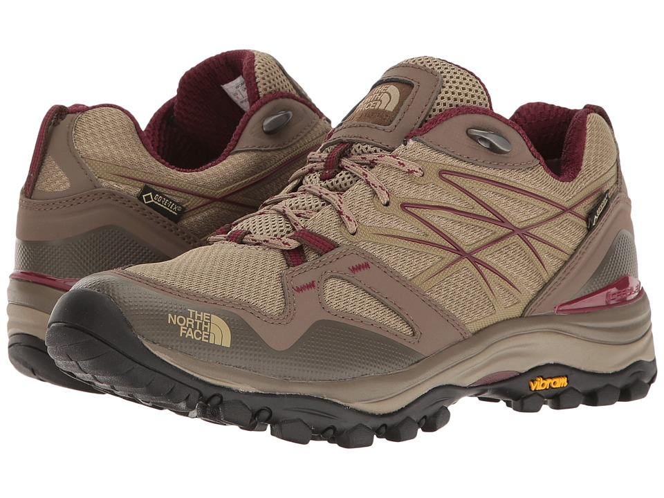 The North Face Hedgehog Fastpack GTX (Dune Beige/Deep Garnet Red) Women's Shoes