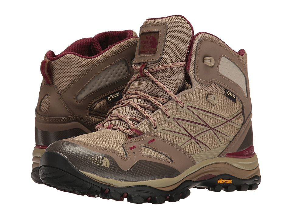 The North Face Hedgehog Fastpack Mid GTX (Dune Beige/Deep Garnet Red) Women