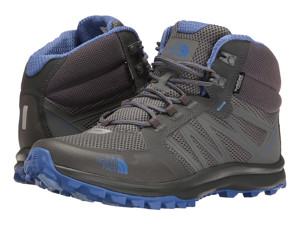 The North Face Litewave Fastpack Mid WP (Zinc Grey/Amparo Blue) Women