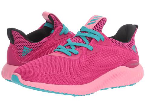 adidas Kids Alpha Bounce (Big Kid) - Easy Pink/Bold Pink/Energy Blue
