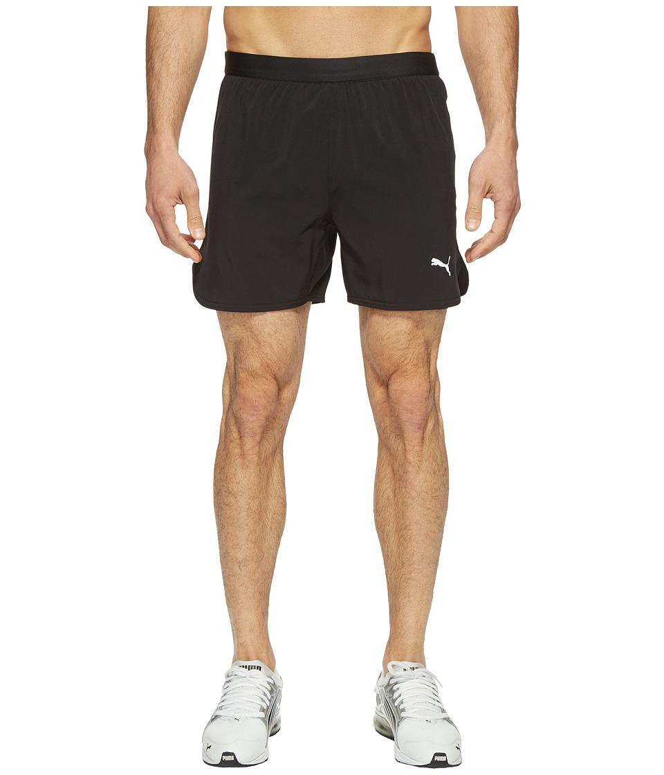 PUMA Speed 5 Shorts (PUMA Black) Men