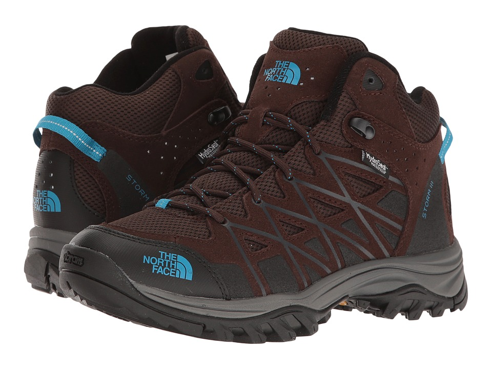 The North Face Storm III Mid WP (Demitasse Brown/Hyper Blue) Women