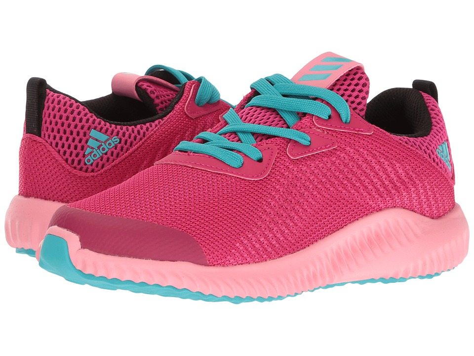 adidas Kids Alpha Bounce (Little Kid) (Easy Pink/Bold Pink/Energy Blue) Girls Shoes
