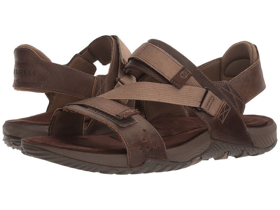 Merrell - Terrant Strap (Dark Earth) Men's Sandals