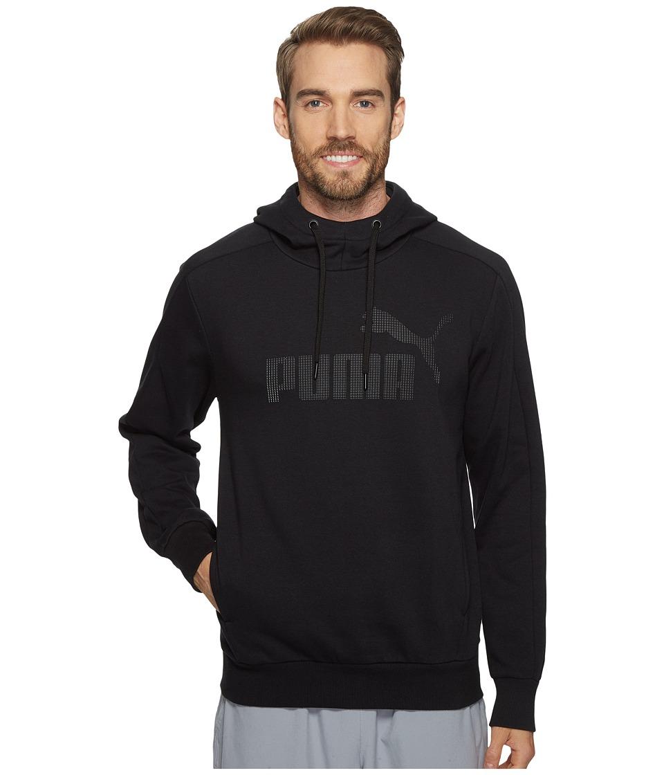 PUMA - P48 Core Hoodie (Cotton Black) Men's Sweatshirt