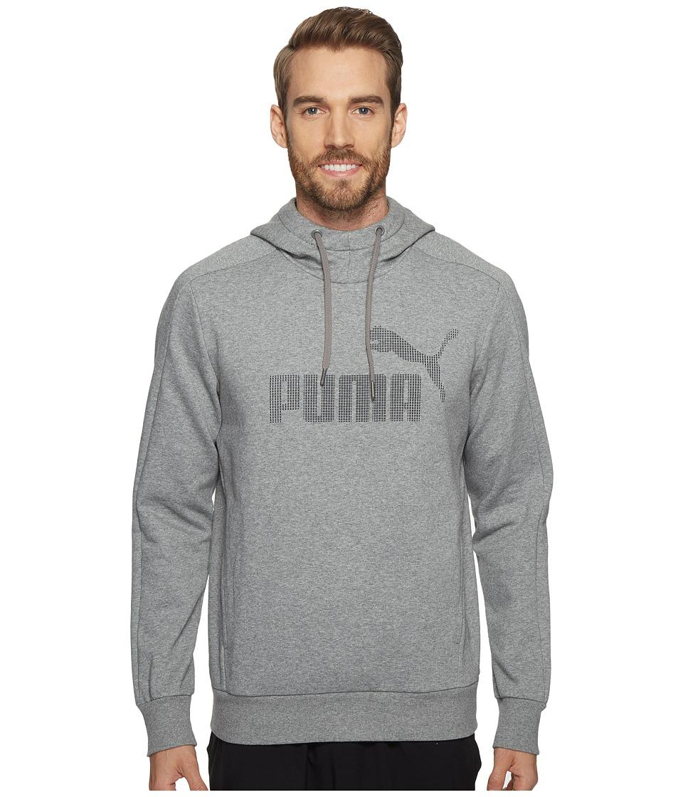 PUMA - P48 Core Hoodie (Medium Gray Heather) Men's Sweatshirt