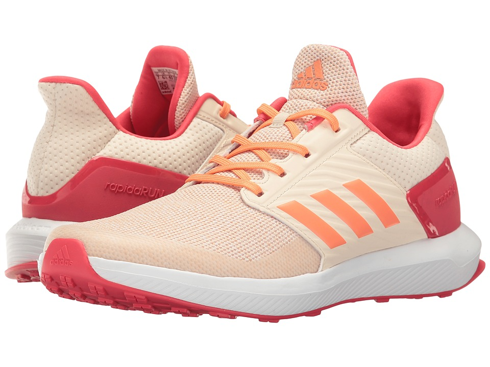 adidas Kids RapidaRun (Little Kid/Big Kid) (Energy Blue/Easy Coral/Easy Mint) Girls Shoes
