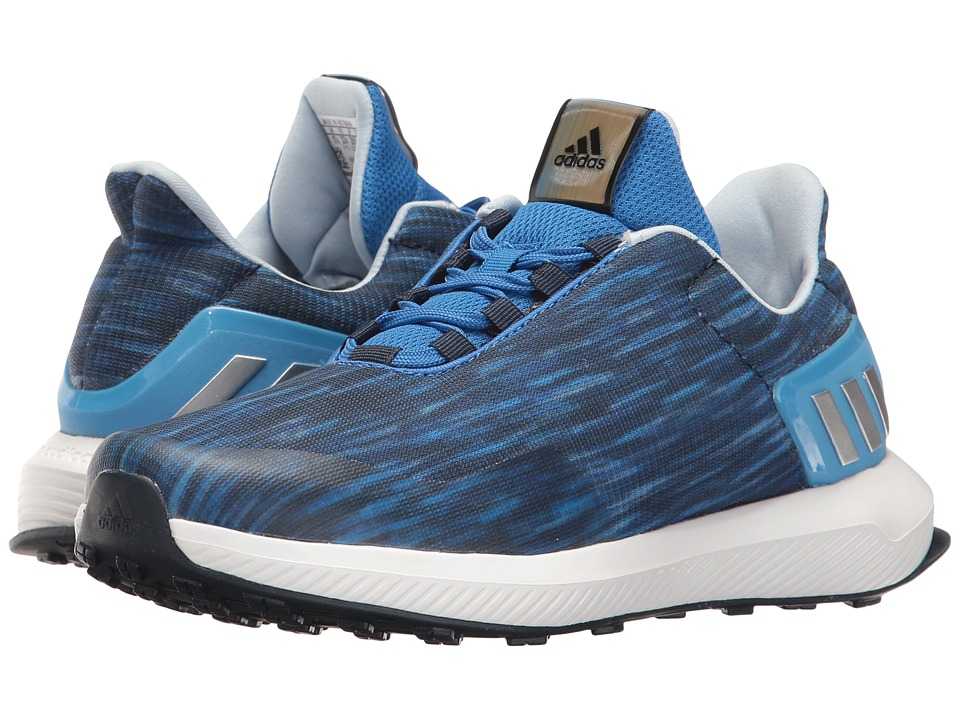 adidas Kids RapidaRun Uncaged (Little Kid/Big Kid) (Blue/Collegiate Navy/Easy Blue) Boys Shoes