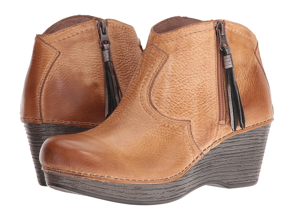 Dansko - Veronica (Honey Distressed) Women's  Boots