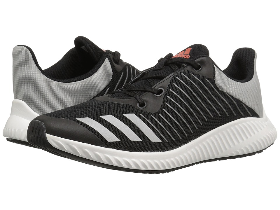 adidas Kids FortaRun (Little Kid/Big Kid) (Black/Energy/Silver) Boys Shoes