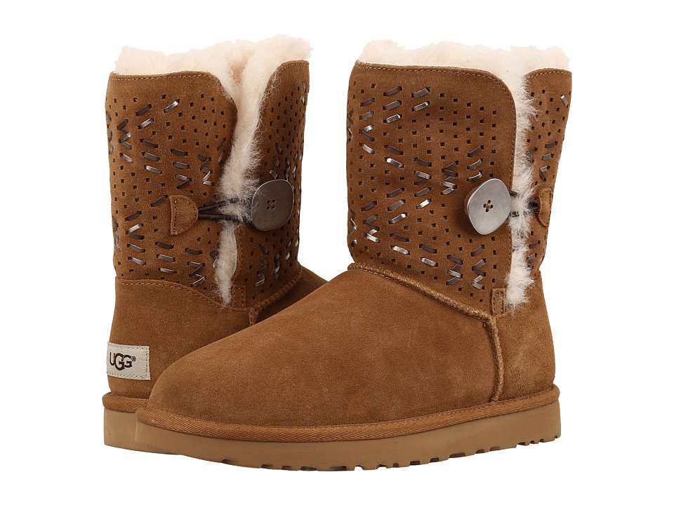 UGG Bailey Button II Tehuano (Chestnut) Women