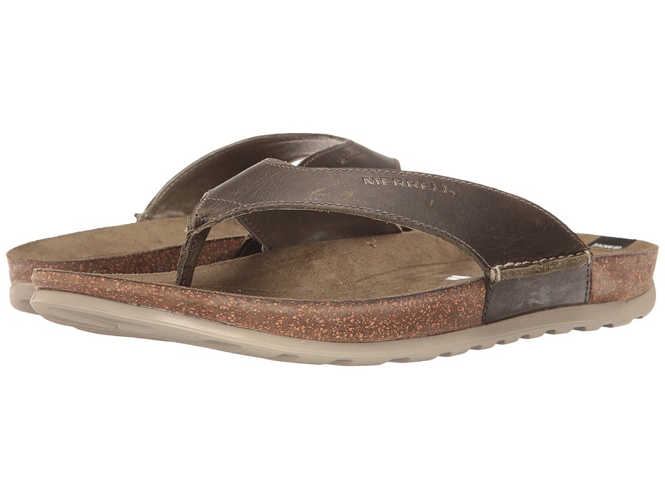 Merrell - Downtown Flip (Dusty Olive) Men's Sandals
