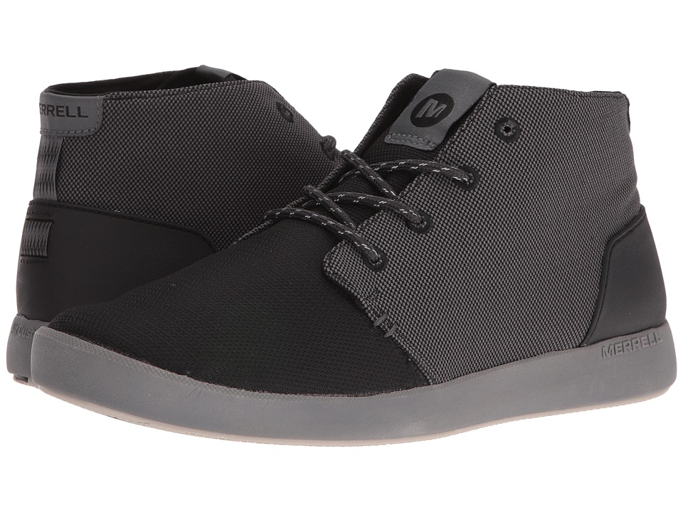 Merrell Freewheel Mesh Chukka (Black) Men