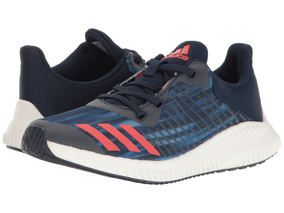 adidas Kids FortaRun Print (Little Kid/Big Kid) (Navy/Red/White) Boys Shoes