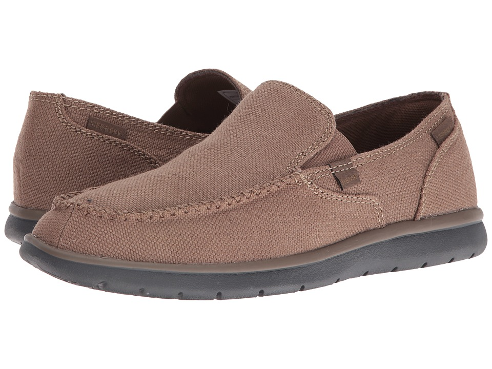 Merrell - Laze Hemp Moc (Otter) Mens Slip on  Shoes