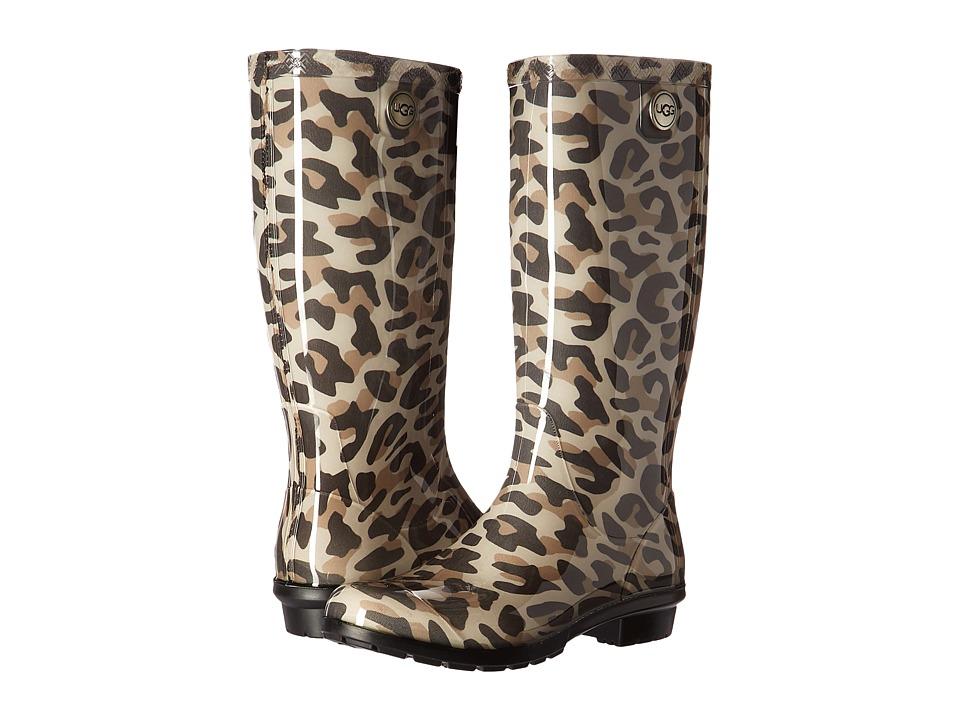 UGG Shaye Leopard (Black) Women
