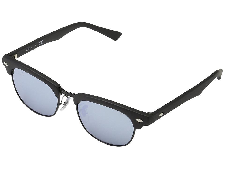 Ray-Ban Junior RJ9050S Clubmaster 45mm (Youth) (Matte Black) Fashion Sunglasses