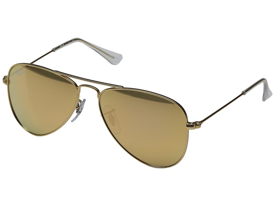 Ray-Ban Junior - RJ9506S 50mm (Youth) (Matte Gold) Fashion Sunglasses