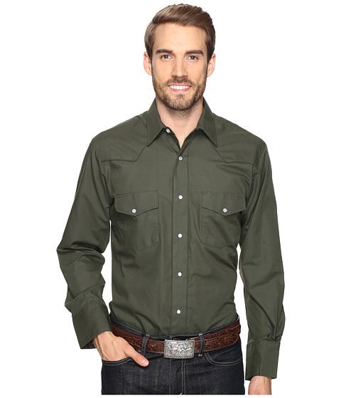 Roper 0772 Solid Broadcloth - Olive Fancy - Green