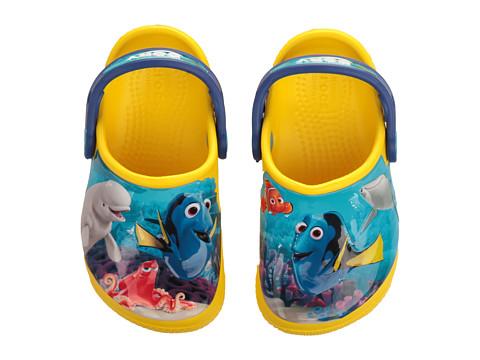 Crocs Kids CrocsFunLab Dory (Toddler/Little Kid) - Lemon