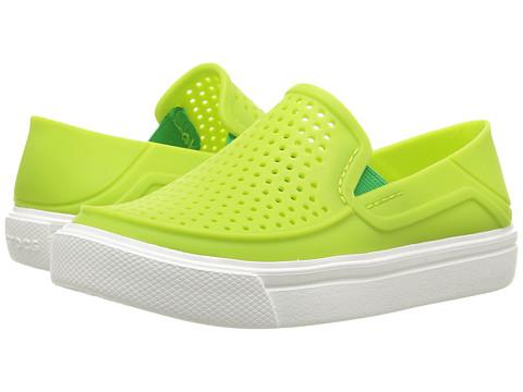 Crocs Kids CitiLane Roka (Toddler/Little Kid) - Volt Green