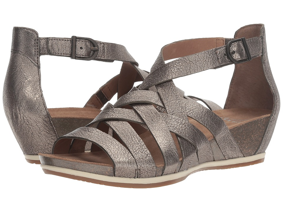 Dansko Vivian (Pewter Nappa) Women's Shoes