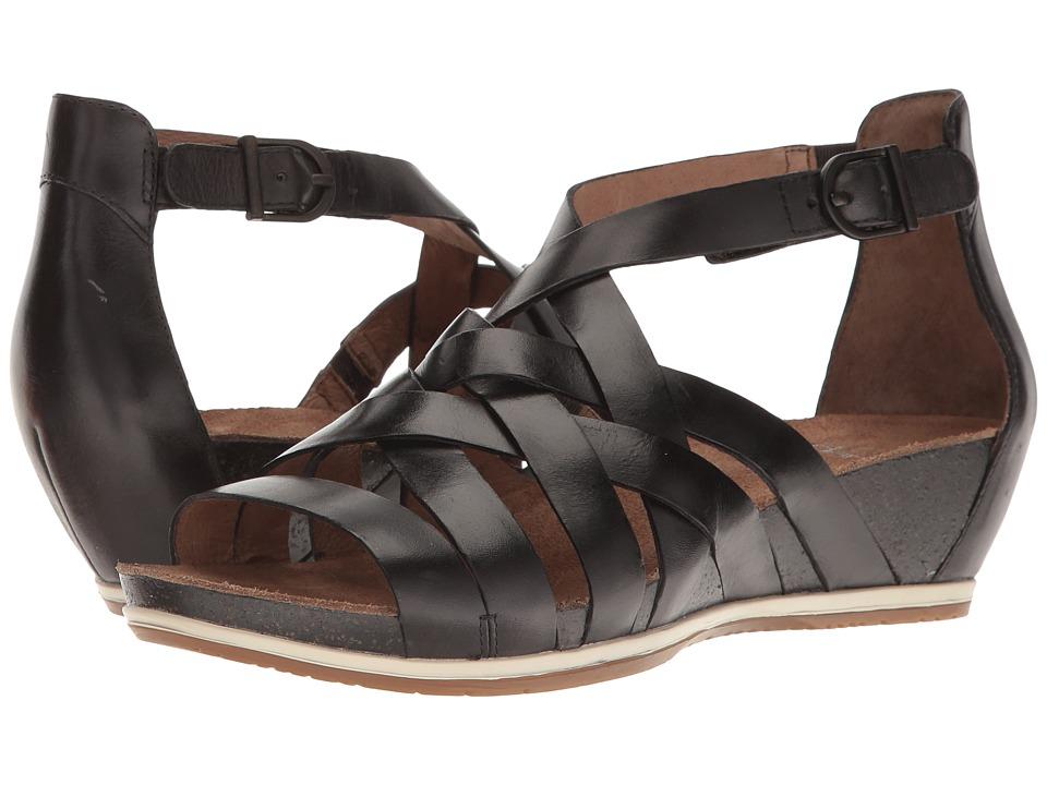 Dansko Vivian (Graphite Vintage) Women's  Shoes