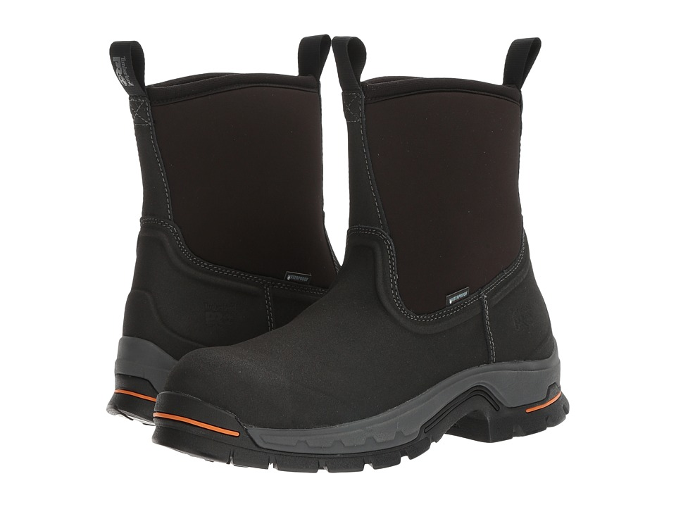 Timberland PRO Linden 8 Alloy Safety Toe Waterproof Boot (Black) Men