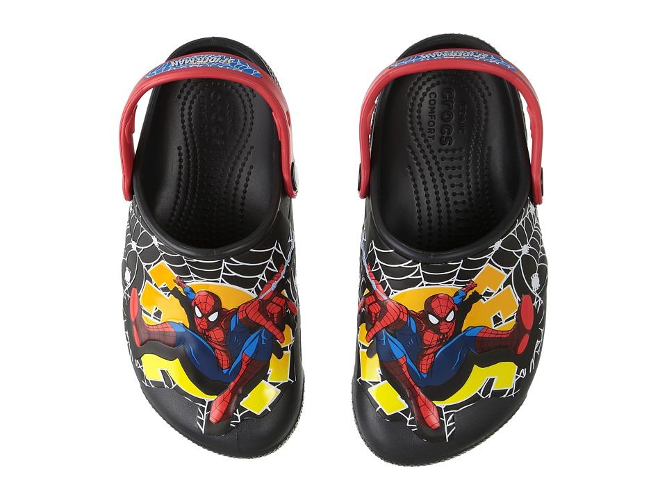 Crocs Kids - CrocsFunLab Lights Spider-Man (Toddler/Littl...