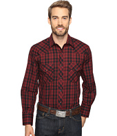Roper - 0693 Black & Red Plaid