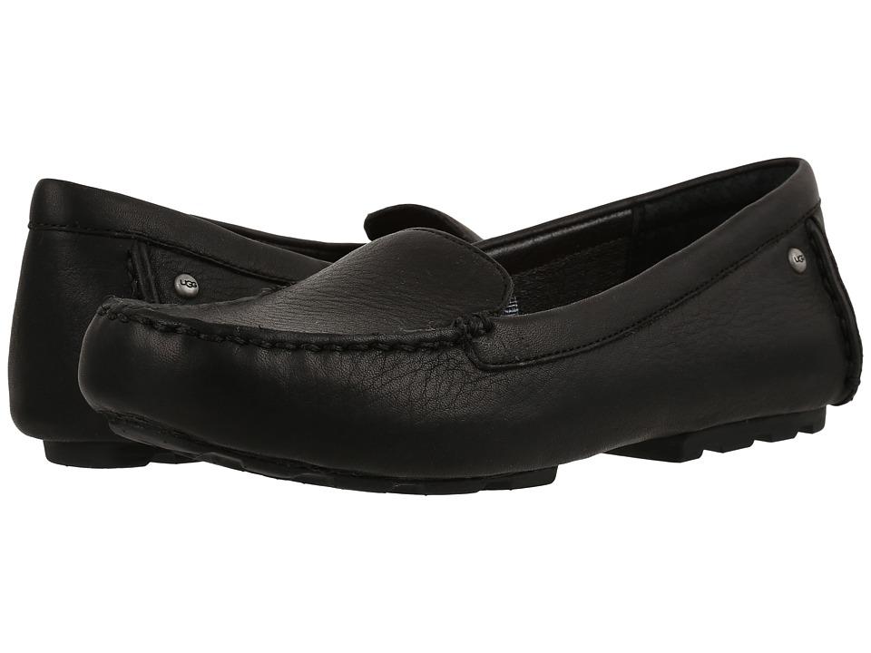 Ugg Milana (Black) Women's Flat Shoes